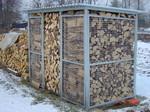 Umhausung für Brennholz