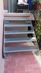 Eingangstreppe aus Stahl verzinkt