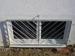 Einbruchschutz Fenstergitter verzinkt